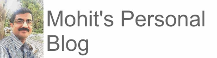 Mohit's Blog
